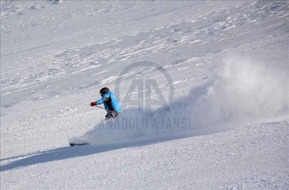 بهشت ورزشهای زمستانیه ترکیه (تصاویر)